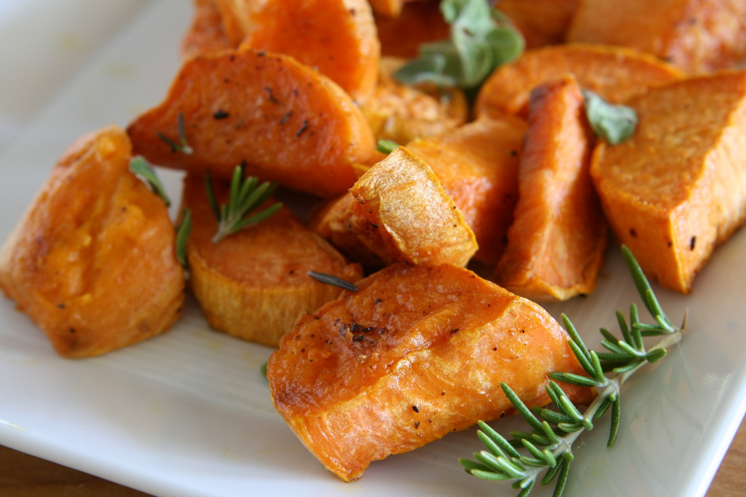 Image for Maple Roasted Sweet Potatoes