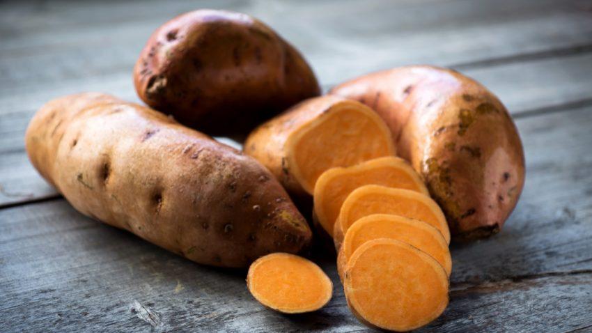 Image for Mashed Sweet Potatoes & Caramelized Onions