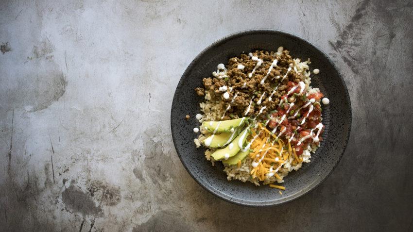 Image for Ground Turkey Taco Bowls