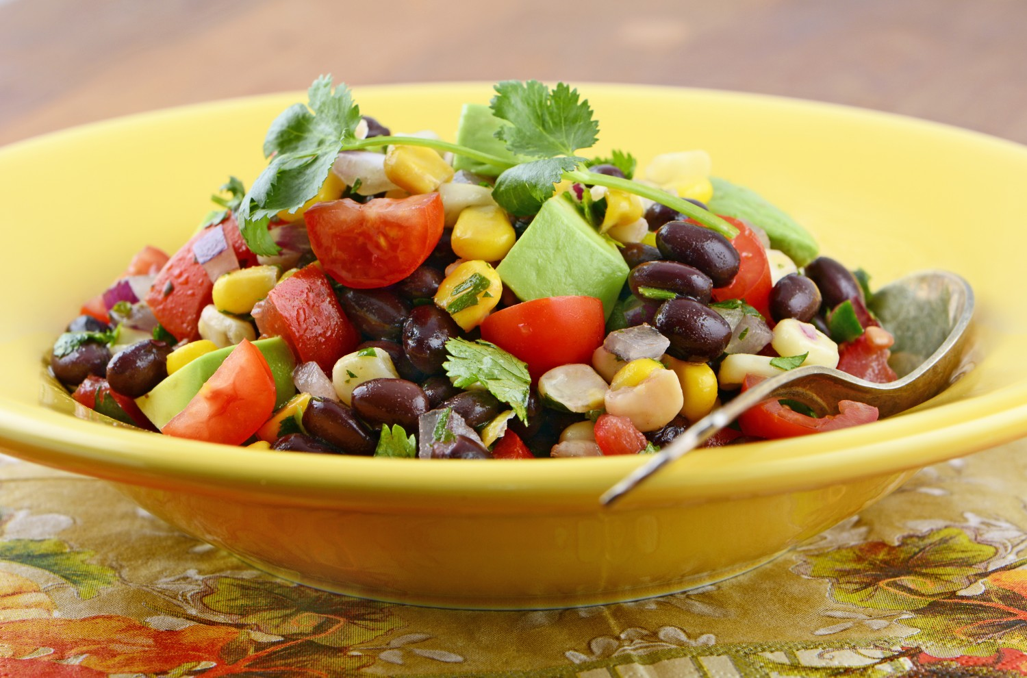 Image for Corn, Tomato & Black Bean Salad