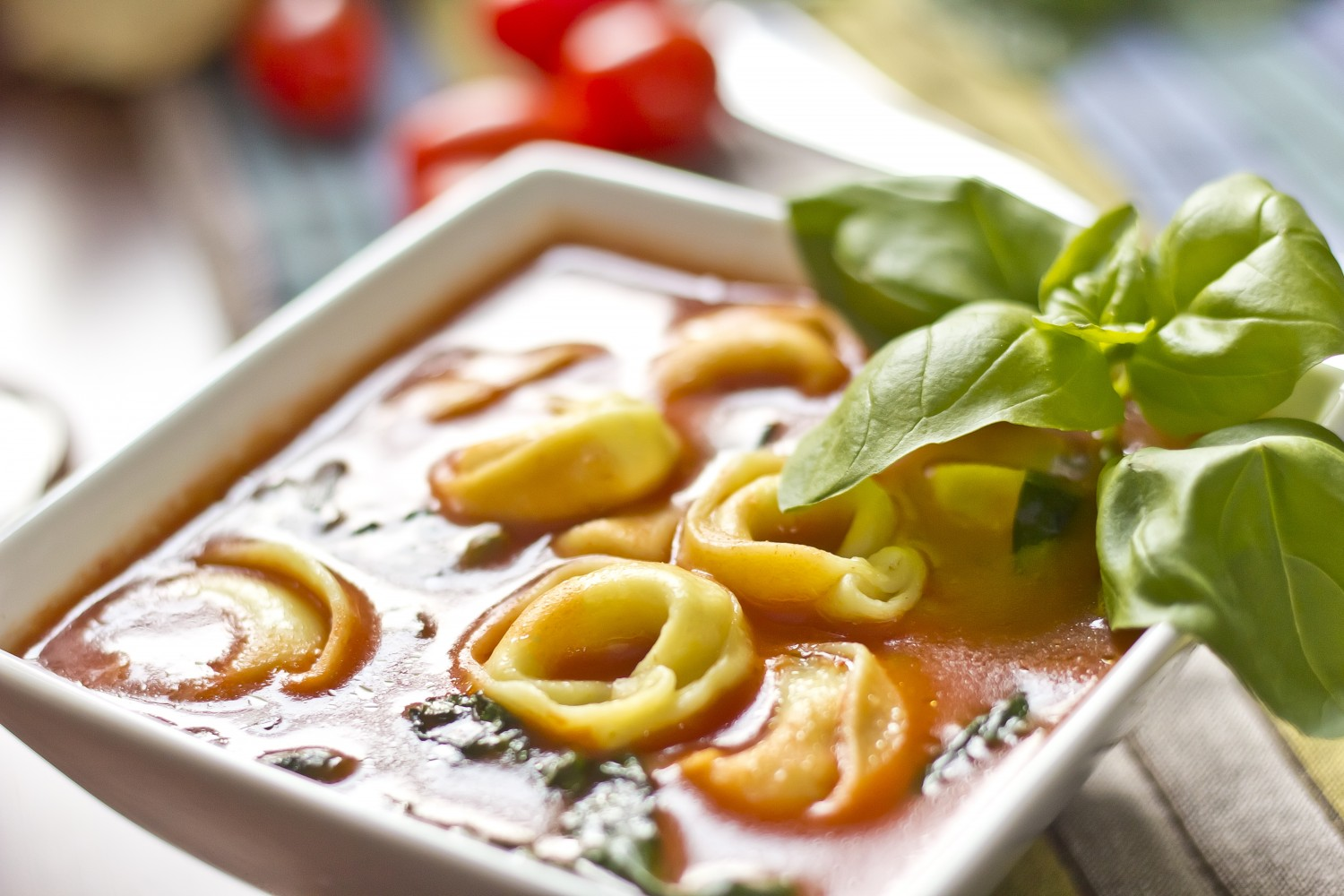 Image for Spinach & Tortellini Soup