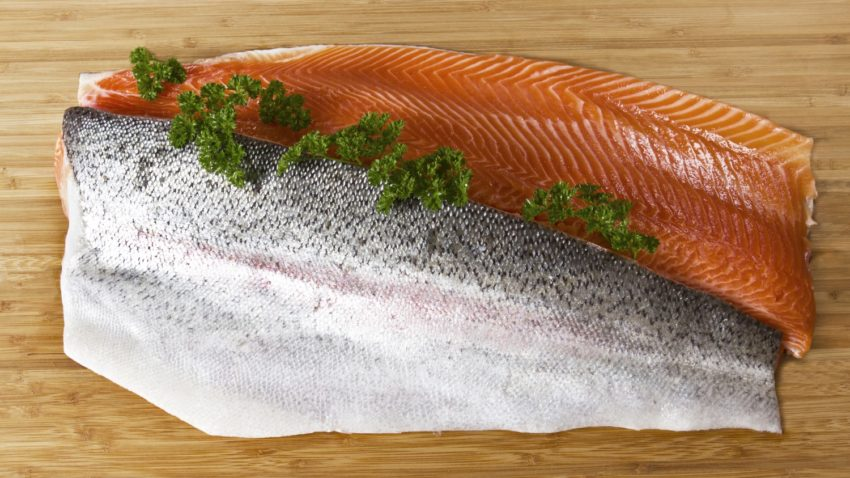 Image for One-Pan Fresh Trout and Asparagus