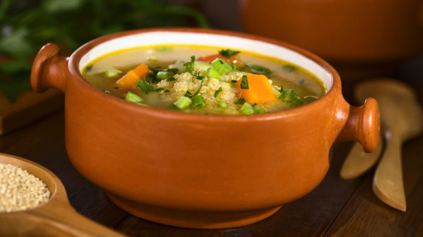 Image for Vegetable Quinoa Soup