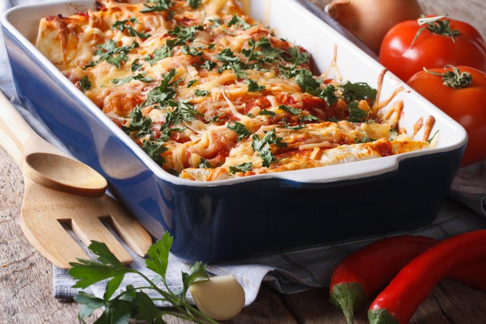 Image for Zucchini Enchiladas