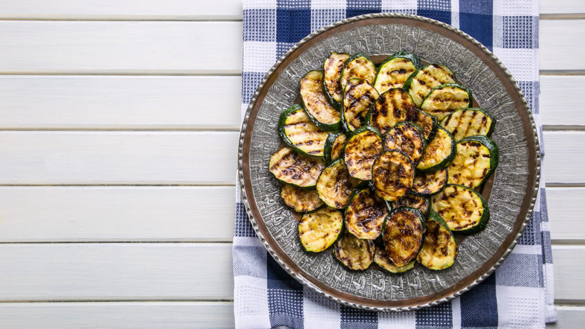 Image for Lemon & Garlic Grilled Zucchini
